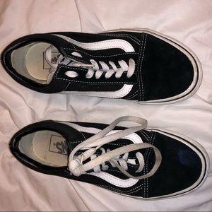 Old Skool Black/White Vans